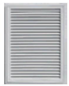 прямоугольная вент. решётка  457мм х610мм, код 00 45 2405001, белый