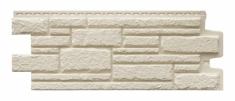 Фасадная панель GRAND LINE Камелот (Молочный), 1,10м