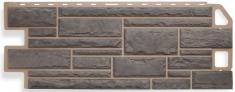Фасадная панель Камень (серый)