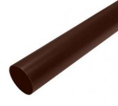 Труба для водосточной системы 3 м коричневая