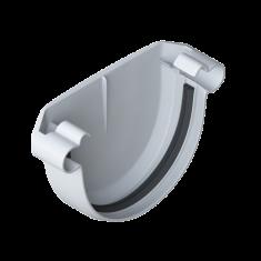 Заглушка для водосточной системы белая